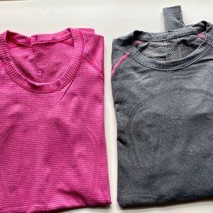 Lululemon Swifty tech shirts